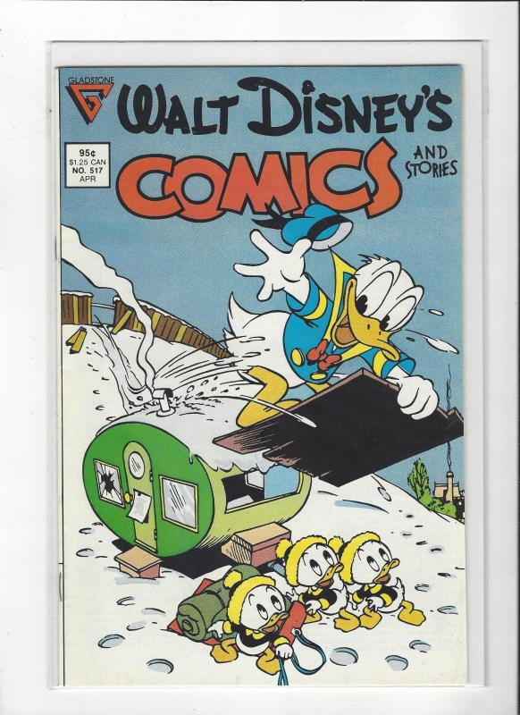Walt Disney's Comics and Stories #517  Gladstone issue NM