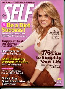 Self 11/2007-Carrie Underwood-American Idol-FN/VF