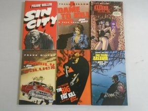 Sin City TPB lot 6 different books