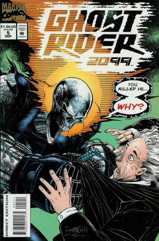 Ghost Rider 2099 #5 VF/NM; Marvel   save on shipping - details inside