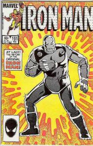 Iron Man #191 (Feb-86) NM Super-High-Grade Iron Man
