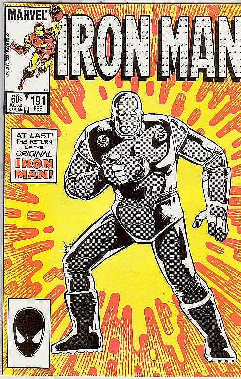 Iron Man #191 (Feb-86) NM Super-High-Grade Iron Man