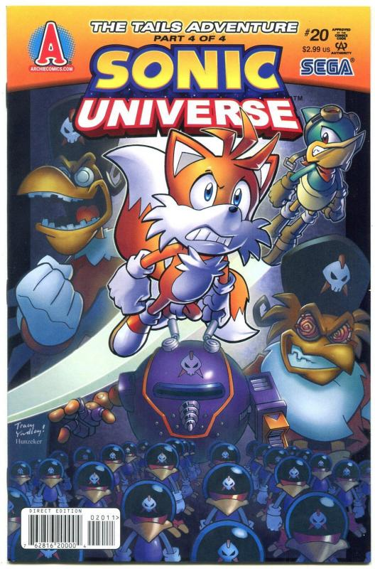 SONIC UNIVERSE #20 2011- Archie Comics- Sega  VF-