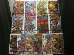 GRIFTER  (1996 IM) 1-14 Steven Grant  complete series!