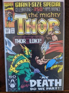 The Mighty Thor #432 (1991) VF