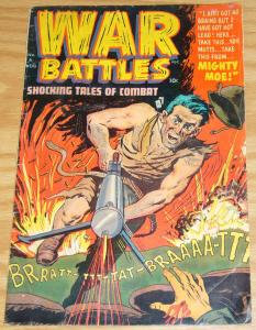 War Battles #6 GD/VG august 1952 - golden age family comics - mighty moe