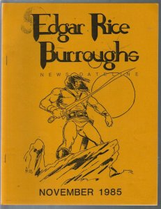 Edgar Rice Burroughs News Dateline #20 1985-Tarzan-ERB-pix-info-ads-VF