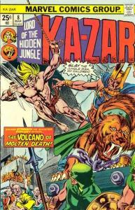 Ka-Zar (1974 series) #8, VF- (Stock photo)