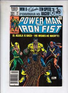 Power Man and Iron Fist #78 (Feb-82) VF High-Grade Luke Cage, Iron Fist