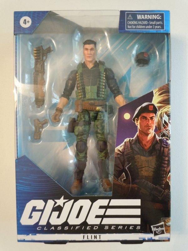 GI JOE Classified Collection Flint 6 Inch Action Figure