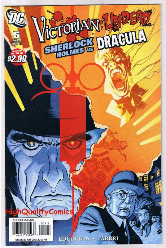 VICTORIAN UNDEAD #5, NM, Sherlock Holmes vs Dracula, 2011, more in store