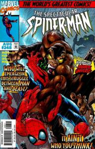 Spectacular Spider-Man, The #248 FN; Marvel | save on shipping - details inside
