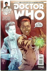 DOCTOR WHO #10 A, NM, 11th, Tardis, 2014, Titan, 1st, more DW in store, Sci-fi