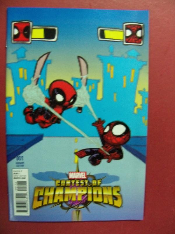CONTEST OF CHAMPIONS, #1,  SKOTTIE YOUNG VARIANT COVER