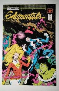 Elementals #24 (1988) Comico Comic Book J756