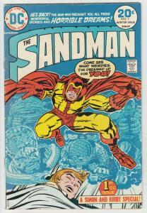 Sandman, the Jack Kirby #1 (Sep-74) FN/VF Mid-High-Grade Sandman