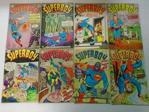 Silver age Superboy lot 20 different 12c covers #135-157 avg 4.0 VG (1967-69)