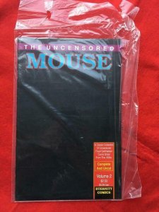 UNCENSORED MOUSE #2, VF/NM, Adult, Factory Sealed, Eternity Comics 1989