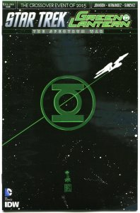 STAR TREK GREEN LANTERN #1 B, NM, Spock, Kirk, War, 2015, IDW, more in store