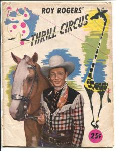 Roy Rogers' Thrill Circus 1940's-Flying Zacchinis-Dive of Death-Trigger-G