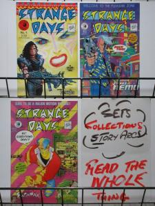 STRANGE DAYS 1-3 THE FIRST  NEW WAVE COMIC!!!