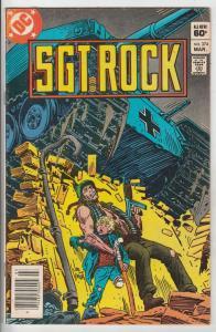 Sgt. Rock #374 (Mar-83) FN+ Mid-High-Grade Sgt. Rock