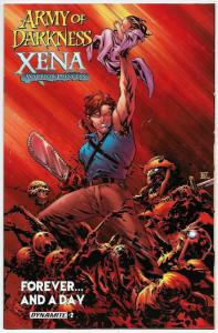 Army of Darkness Xena Forever And A Day #2 (Dynamite, 2016) NM