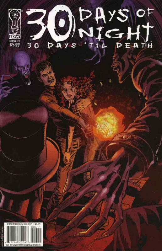 30 Days of Night: 30 Days 'Til Death #4 VF/NM; IDW | save on shipping - details