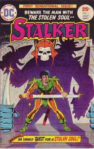 Stalker #1 (Jul-75) NM- High-Grade Stalker