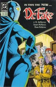 Doctor Fate (1988 series) #5, Fine+ (Stock photo)