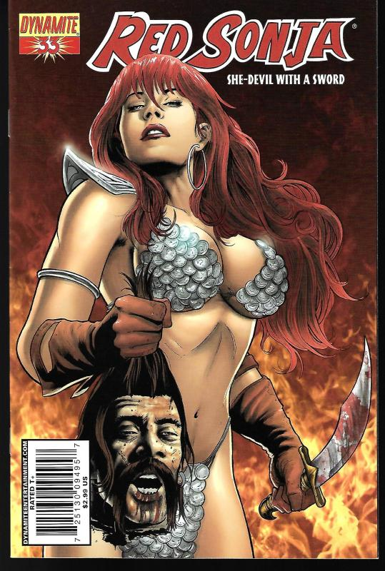 Red Sonja #33 (Dynamite Entertainment)- Fabiano Neves Cover