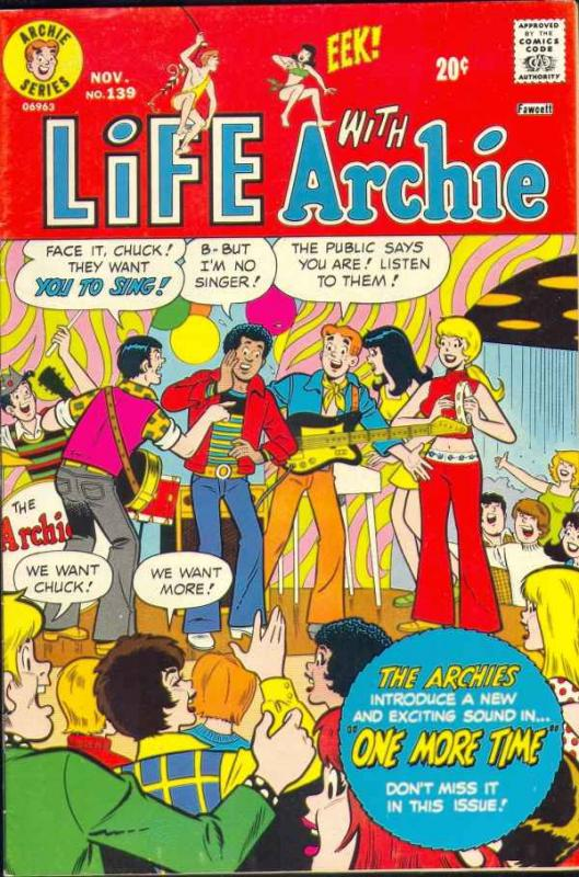 Life with Archie #139 (Nov-73) VF High-Grade Archie