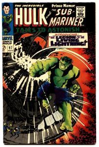 TALES TO ASTONISH #97 comic book-HULK/SUB-MARINER-1967- VF-