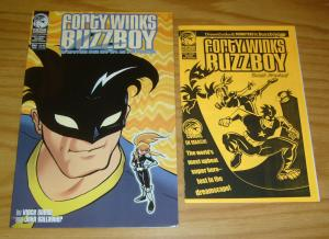Forty Winks/Buzzboy #1 VF/NM one-shot + sneak preview ashcan - peregrine set