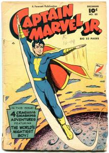 Captain Marvel Jr #80 1949- Fawcett Golden Age reading copy