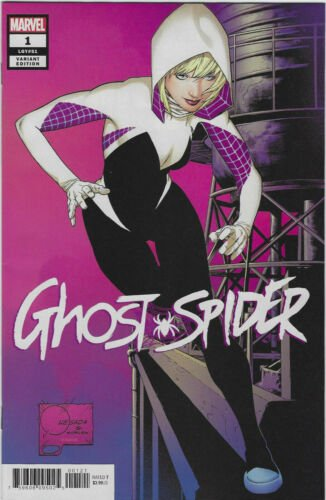 GHOST SPIDER #1 VARIANT 1 IN 50 RATIO