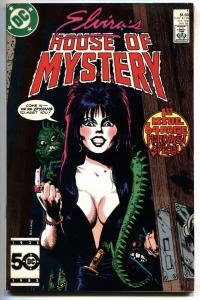 ELVIRA'S HOUSE OF MYSTERY #1 1986-First issue comic book
