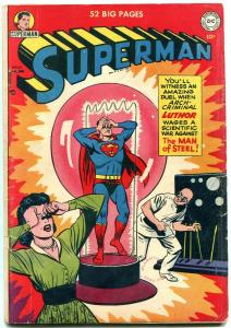 SUPERMAN #68-1951-First Lex Luthor cover. Golden Age DC comic book VG+