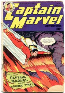 Captain Marvel Adventures #122 1951- Fawcett Golden Age reading copy