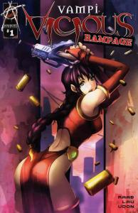 Vampi Vicious Rampage #1A VF/NM; Harris | save on shipping - details inside