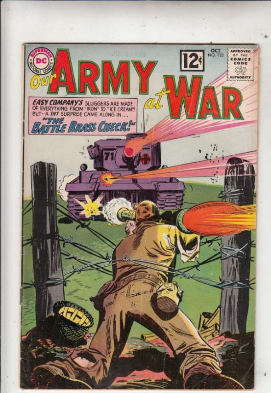 Our Army at War #123 (Oct-62) FN Mid-Grade Easy Company