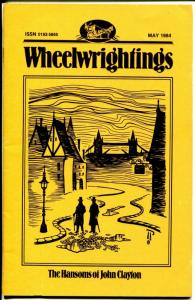 Wheelwrightings #19 1984-Sherlock Holmes fanzine-NM