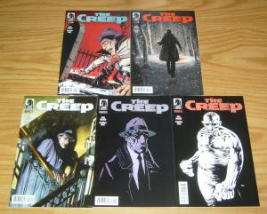 the Creep #0 & 1-4 VF/NM complete series - private eye pulp story - frank miller