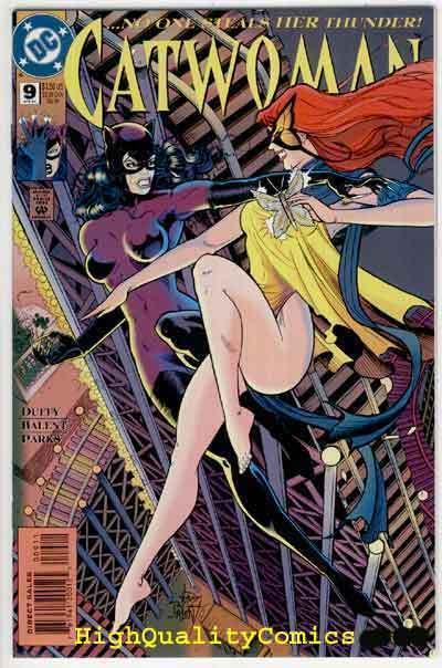 CATWOMAN #9, NM+, Jim Balent, Femme Fatale, Zephyr, 1993, more CW in store