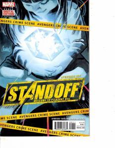 Lot Of 2 Comic Books Marvel Standoff #1 and Bonus Digital Edition  ON10