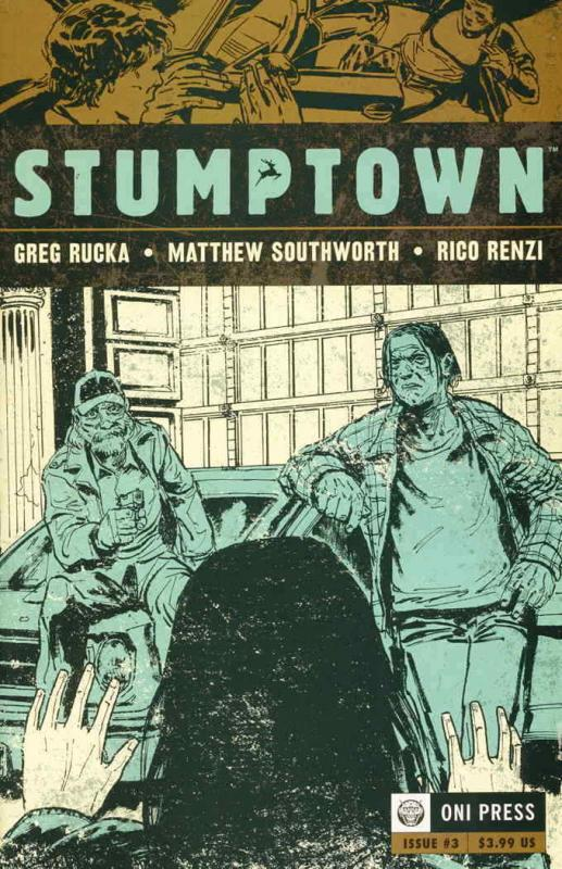Stumptown #3 VF/NM; Oni | save on shipping - details inside