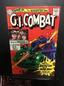 G.I. Combat #116 (1966) High-grade heart attack, Joe Kubert key! VF Boca CERT!