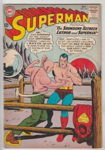 Superman #164 (Oct-63) VF+ High-Grade Superman, Jimmy Olsen,Lois Lane, Lana L...