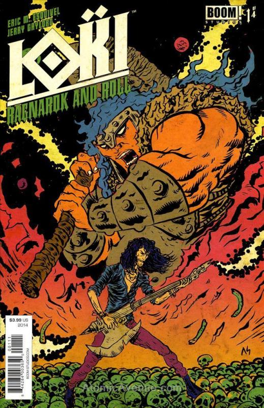 Loki: Ragnarok and Roll #1 VF/NM; Boom! | save on shipping - details inside