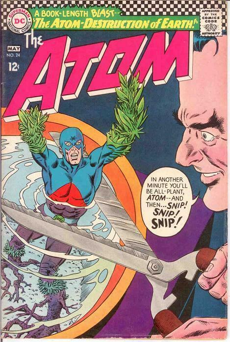 ATOM 24 VG-F  May 1966 COMICS BOOK